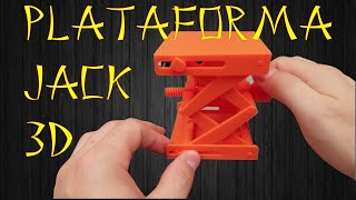 Anet A8 Impressora 3D - Imprimindo Plataforma Jack e Rolamento. Será que FUNCIONA?
