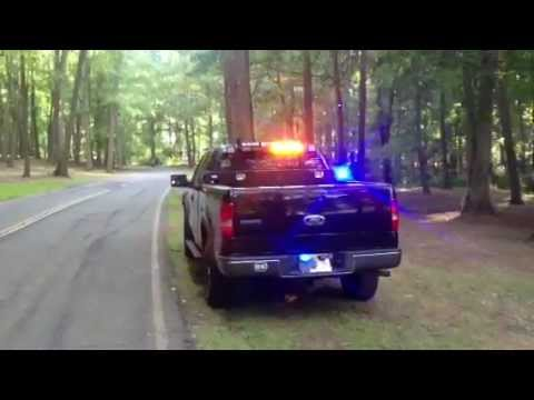 Ford F150 Pov Emergency Lights Fire Ems Rear Youtube