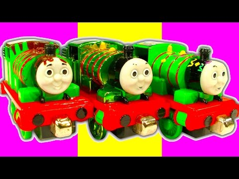 Percy The Small Engine Large Toy Train Collection (Giveaway Won By Train Tsar Fun)
