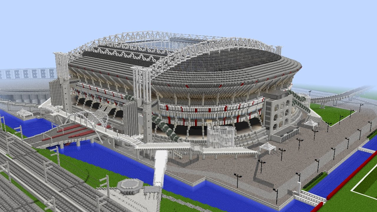Minecraft Amsterdam Arena Ajax Amsterdam 1 1 Youtube