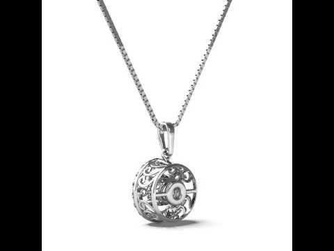 Rhythm of love diamond necklace youtube rhythm of love diamond necklace aloadofball Image collections