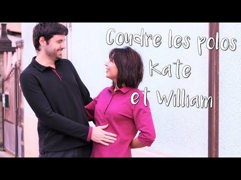 Coudre les polos Kate et William