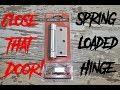 Spring Loaded Door Hinge