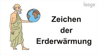 Eindeutige Zeichen der Erderwärmung