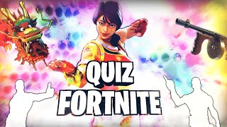 QUIZ FORTNITE BATTLE ROYALE 💥 / QUIZ DANSE FORTNITE FORTNITE EN (FEAT StarLight 🔥)