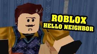 ROBLOX HELLO NEIGHBOR - Hello, Neighbor! Alpha IIII Full Game