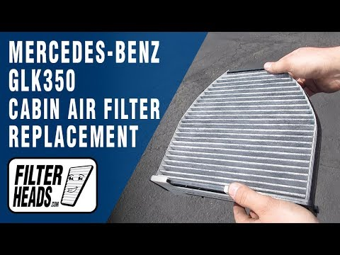 How to Replace Cabin Air Filter 2015 Mercedes-Benz GLK350