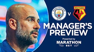 Pep Guardiola previews the FA Cup Final | PRESS CONFERENCE