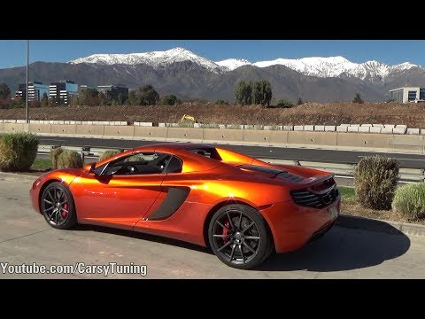 Supercars in Santiago Chile Vol 44 - 540C, 4x4 Squared, Crashed 458 and more!