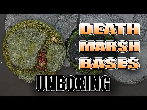 Nurgle Death Marsh Bases - Resin REVIEW