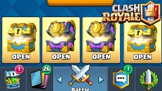 PACK OPENING : On s'ouvre 2 Coffres de TOURNOI | Clash Royale Fr