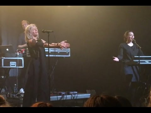 Aurora Aksnes sings