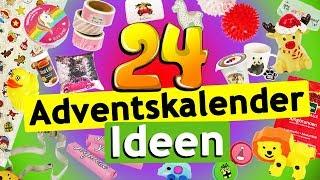 24 ADVENTSKALENDER Geschenkideen zum befüllen für Freundin, Mama/ Papa, Freund, Männer, Kinder, BFF