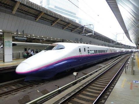 Japan Trains: JR Tokyo (Shinkansen) Station, 23Jun13
