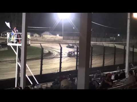 West Liberty Raceway IMCA Sport Compact 4/19/14