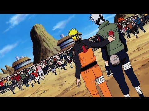 «Признание Наруто!» / Возвращение героя Конохи после битвы с Пейном / Наруто против Пейна