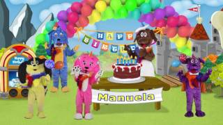 Manuela Happy Birthday