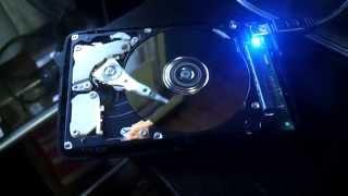 hard disk failure - header in loop