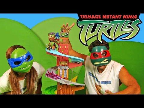 Teenage Mutant Ninja Turtles Race To The Sewer Trackset