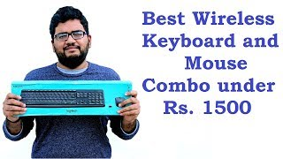 Best Wireless Keyboard and Mouse Combo under Rs.1500, Logitech MK235 Unboxing and Review