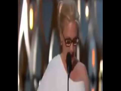 Patricia Arquette wins Best Supporting Actress -The Oscars 2015 87th Academy Awards