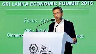 Mr. Rajan Anandan, MD of Google India speaking at the Sri Lanka Economic Summit 2016