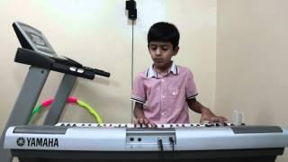 Sare Jahan Se Acha Indian Patriotic Song Played On Keyboard By Vishwaraj Vinayakumar