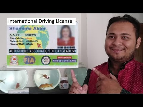 how to get International Driving license in Bangladesh