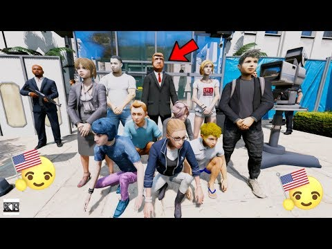 GTA 5 REAL LIFE TEEN MOD SS3#11 MEETING THE PRESIDENT