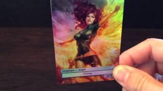 Pheonix Foil Custom Altered Art Magic The Gathering Angel Token MTG Card
