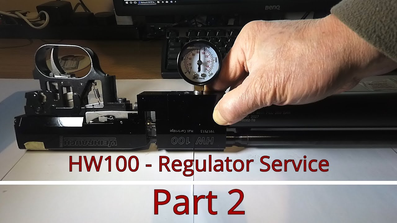Weihrauch HW100 - Regulator Service - Part 3 of 3 - Testing