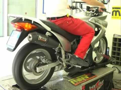honda xl 125v varadero 2006 mivv oval carbon cap youtube. Black Bedroom Furniture Sets. Home Design Ideas