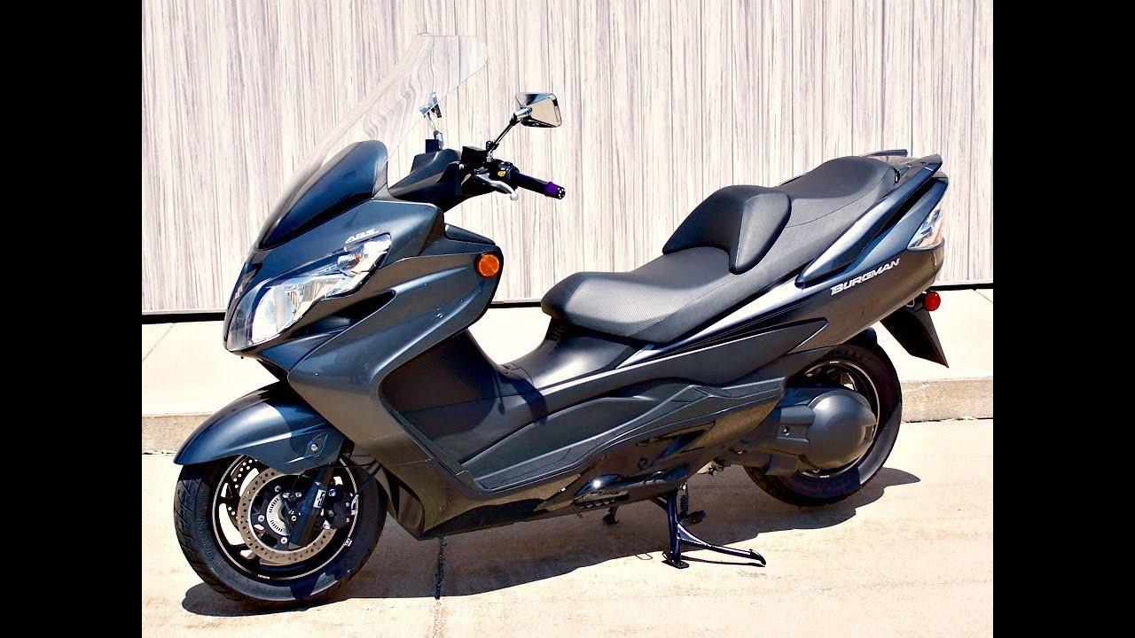 sold 2012 suzuki burgman 400 abs scooter youtube. Black Bedroom Furniture Sets. Home Design Ideas