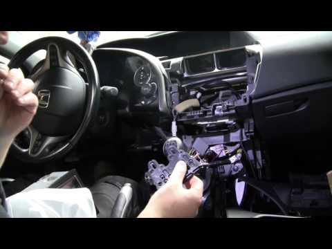 Honda Civic poner equipo música Parte 2