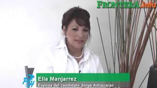 Elia Majarrez admira firmeza  de Jorge