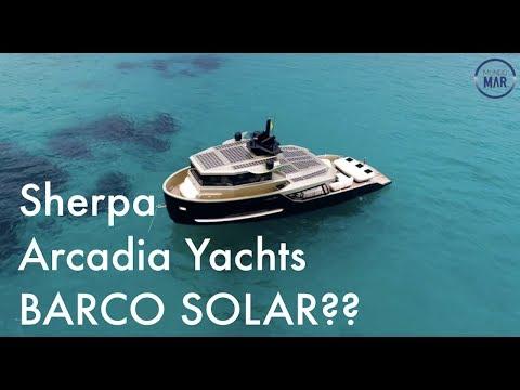 Sherpa - Arcadia Yachts um barco com muita tecnologia.