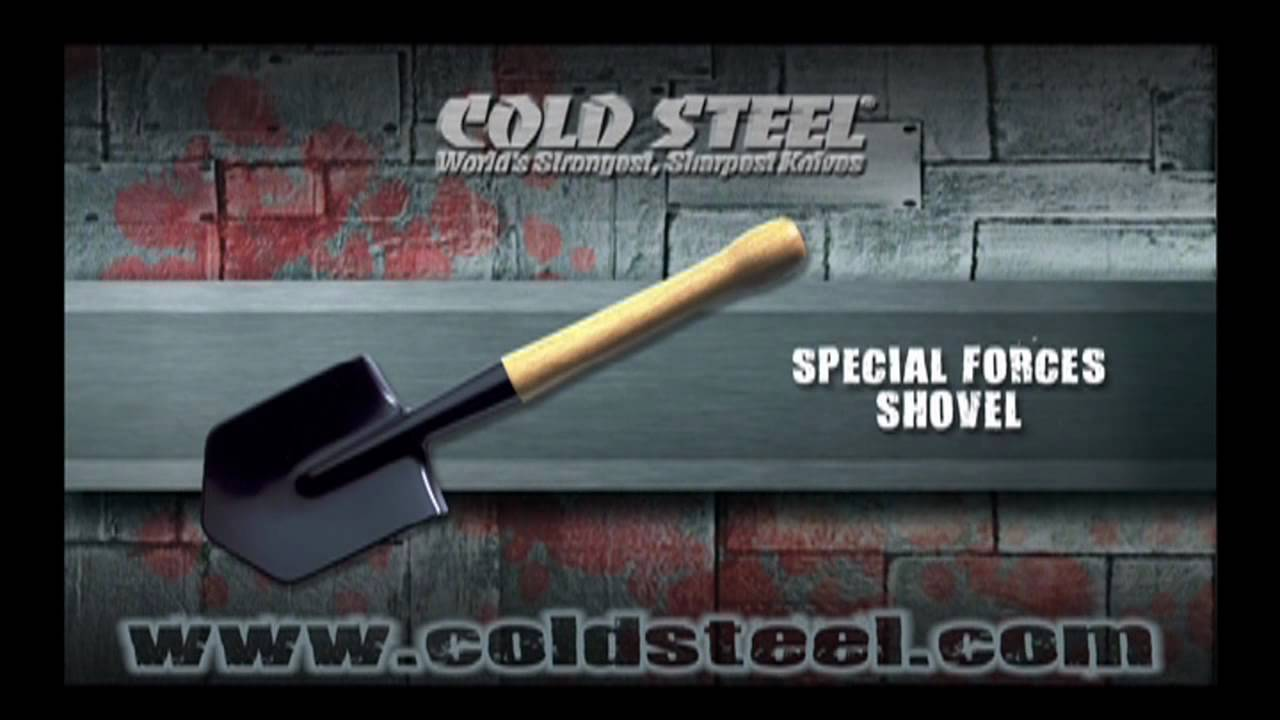 Special Forces Shovel Cold Steel Throwing Shovel