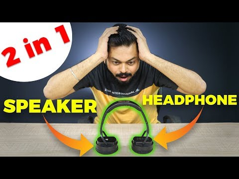 Bluetooth Headphones or Speakers... Its Two in One! FLICK Hybrid Headphones & Speakers Review