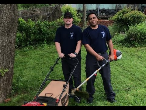 Alabama firefighters return to mow veteran's lawn