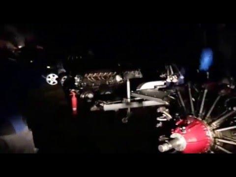 Rekord 119 Zylinder Ostern 2016 Sternmotor V12 Diesel