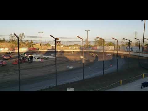 California Modlites at Bakersfield Speedway June 22 2019 heat race 2