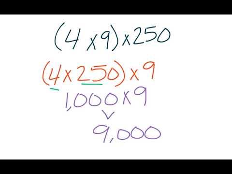 4th grade GoMath 2.8 - Multiplying using Mental Math