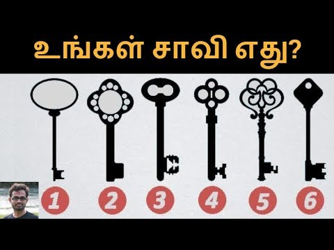 Choose a key and reveal your personality | Test in Tamil