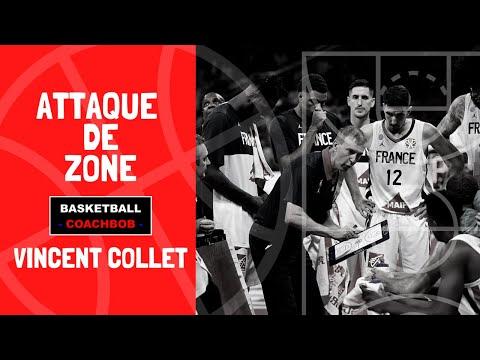 Attaque de zone par Vincent Collet [Zone Offense]