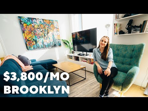 My $3,800 Brooklyn Apartment | 1 Bedroom Tour