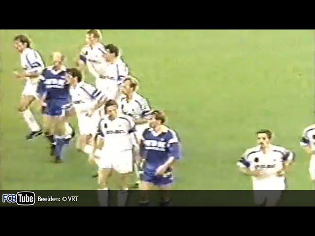 1991-1992 - Jupiler Pro League - 02. Club Brugge - AA Gent 5-1