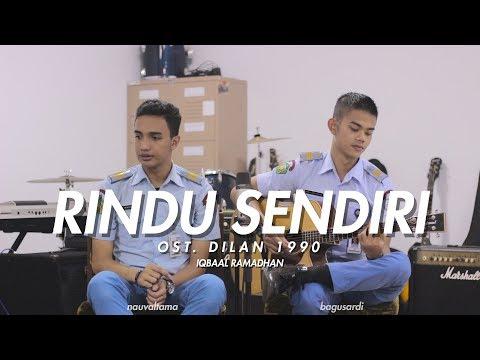 OST. DILAN 1990 - Rindu Sendiri (Cover) Nauval Tama ft. Bagus Ardi