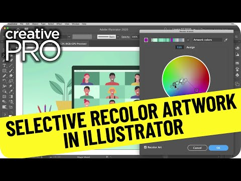 Selective Recolor Artwork in Illustrator ft. Laura Coyle // Three Minutes Max