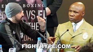 MALIGNAGGI & EUBANK SR. DEBATE OVER GEORGE GROVES WORKING RINGSIDE; WHO DIDN'T WANT HIM THERE?