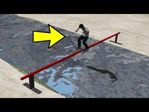 CHRIS CHANN Skating Over The LA River in SKATE 3